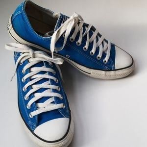 Royal Blue All Star / Chuck Taylor Converse shoe